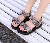 女童涼鞋女孩公主韓版小學生沙灘鞋童鞋