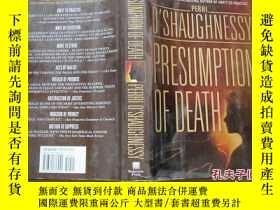 二手書博民逛書店PRESUMPTION罕見OF DEATH (精裝大32開)79