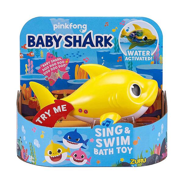 BABY SHARK鯊魚家族悠遊系列 黃色