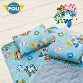 波力 守護 藍 卡通 兒童睡墊三件組 台灣製 超取限一組
