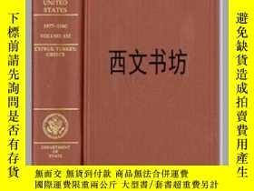 二手書博民逛書店【罕見】2000年出版 Foreign Relations of