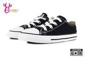 All STAR★Converse帆布鞋 寶寶 小童 基本款低筒帆布鞋 G9812#黑色◆OSOME奧森鞋業