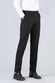 職業正裝修身韓版男士上班黑色西褲男裝商務工作褲西服免燙褲 茱莉亞