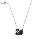 施華洛世奇 Iconic Swan 經典黑天鵝水晶鏈墜