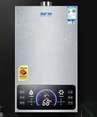 電熱水器 家用天燃氣強排式液化氣煤氣12升16升洗澡速熱恒溫 【免運快出】