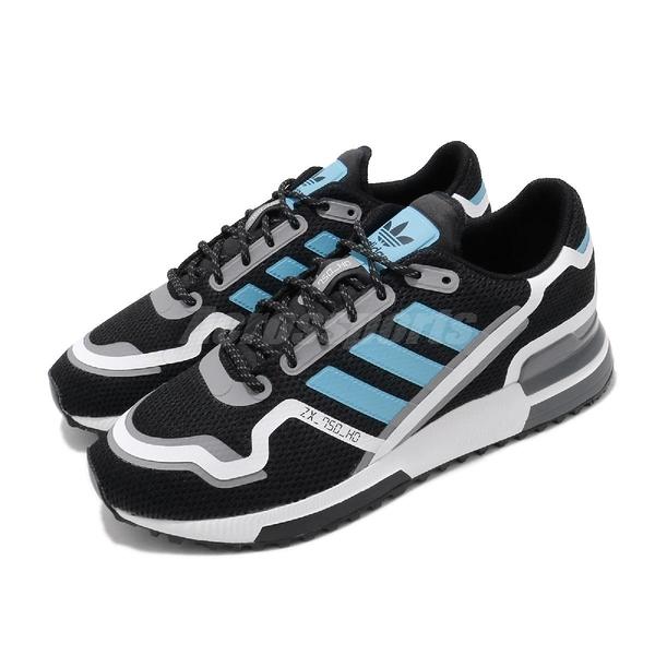 adidas 休閒鞋 ZX 750 HD 黑 白 男鞋 復古慢跑鞋 運動鞋 【PUMP306】 FV2874