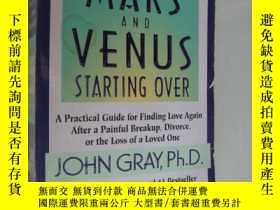 二手書博民逛書店Mars罕見and Venus Starting Over《愛: