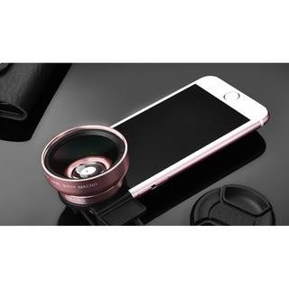 通用手機鏡頭專業37MM 0.45X超廣角微距二合一49UV 外置廣角鏡頭
