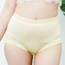 闕蘭絹 30針包腹舒適100%蠶絲內褲-2219(黃)