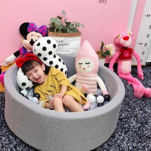 海洋球 ins兒童海洋球池波波球室內游戲圍欄游樂玩具裝飾彩色網紅球RM