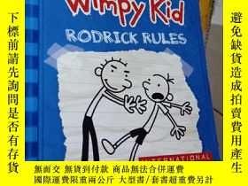 二手書博民逛書店DIARY罕見of a Wimpy Kid RODRICK RULES 2--懦弱小子羅德裏克規則的日記Y35