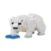 《 Nano Block 迷你積木 》NBC_294北極熊╭★ JOYBUS玩具百貨