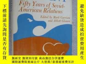 二手書博民逛書店籤送本罕見Fifty years of Soviet-Ameri