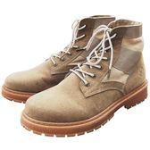 秋季新款馬丁靴男士英倫工裝鞋港風潮流高筒鞋男短靴子中邦雪地靴