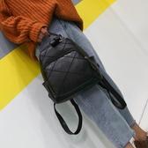 皮革後背包新款後背包女韓版復古菱格包軟皮多用旅行背包休閒百搭學生書包潮 熱賣 suger
