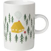《DANICA》單柄馬克杯(森林小屋)