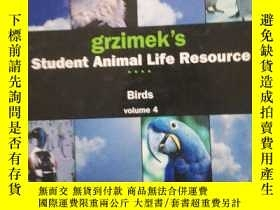 二手書博民逛書店grzimek s罕見Student Animal Life R