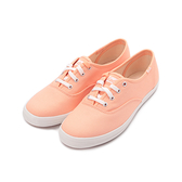 KEDS CHAMPION 玩色經典綁帶休閒鞋 粉橘 9192W112749 女鞋 平底