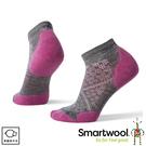 【SmartWool 美國 女 機能跑步局部輕量減震低筒襪《粉霧紫》】 SW0SW211/運動襪/戶外襪/機能襪