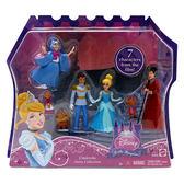迪士尼Disney Mattel美泰兒 迷你迪士尼公主經典人物系列 灰姑娘 BDK05