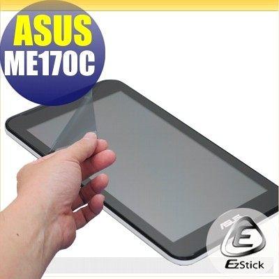 【EZstick】ASUS MeMO Pad ME170 K017 專用 靜電式平板LCD液晶螢幕貼 (可選鏡面防汙或高清霧面)