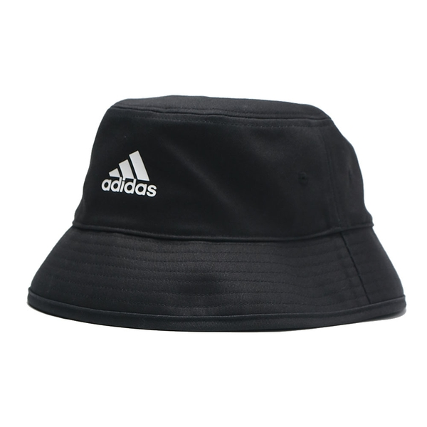ADIDAS 漁夫帽 黑 三線 基本款 休閒 (布魯克林) H36810