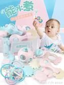 嬰兒手搖鈴玩具牙膠益智0-3-6-12個月寶寶1歲幼兒新生5男女孩8  LannaS