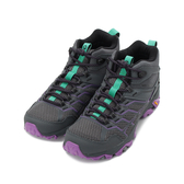 MERRELL MOAB FST 2 MID GORE-TEX 多功能運動鞋 灰/紫紅 ML65398 女鞋
