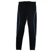 [陽光樂活=]女性多功能緊身長褲 HI COOL 台灣製  FG50101-L 黑/淺藍