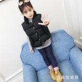 兒童羽絨棉馬甲 加厚外穿2018新款秋冬款男童女童外套 BF14652『愛尚生活館』