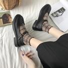 娃娃鞋 秋季新款瑪麗珍鞋女復古軟妹小皮鞋女日系一字扣單鞋平底女鞋 - 古梵希