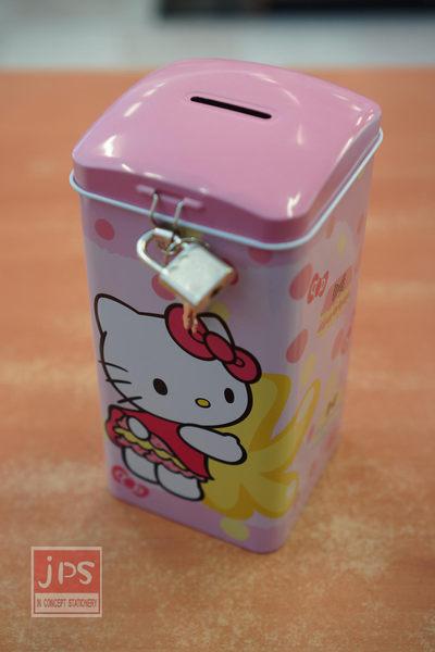 Hello Kitty Cute屁屁系列 直式存錢筒 附鎖 粉