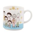 【震撼精品百貨】CHIBI MARUKO CHAN_櫻桃小丸子~小丸子陶瓷馬克杯(350ML)-家族/日本製#10574
