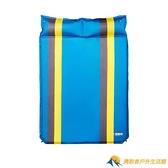 自動充氣墊充氣床墊戶外帳篷睡墊露營午休防潮墊【勇敢者戶外】