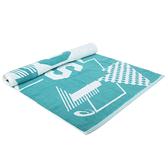 ASICS 大浴巾(海邊 毛巾 游泳 戲水 純棉 台灣製 亞瑟士 免運 ≡排汗專家≡