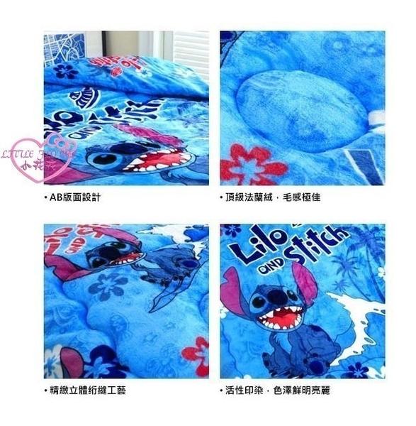 ♥小花花日本精品♥ 《Disney》迪士尼史迪奇雙面毯被蓋毯保被暖暖被法蘭絨毯浪花12338405