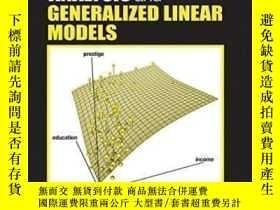 二手書博民逛書店Applied罕見Regression Analysis And Generalized ar Models-應用