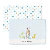 奇哥花園比得兔乳膠枕/嬰兒平枕 (附枕套) (藍色) 675元