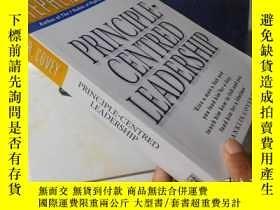 二手書博民逛書店Principle罕見Centered Leadership【1