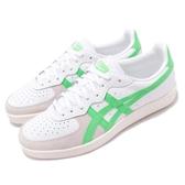 Asics 休閒鞋 GSM 白 綠 復古奶油底 麂皮鞋面 基本款 運動鞋 男鞋 女鞋【PUMP306】 1183A353100