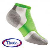 Thorlos XCCU EXPERIA 雪豹 超短筒運動襪 螢光綠 XCCU198