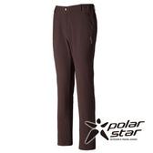PolarStar 中性 Soft Shell 抗風保暖褲 (內刷毛) 綠卡其 P15409