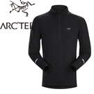 【ARC TERYX 始祖鳥 男款 Cormac快乾長袖套頭衫《黑》】18902/UPF50+/立領上衣/中層衣