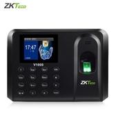 打卡機 打卡鐘ZKTeco/中控智慧V1000指紋打卡機考勤機指紋打卡器員工手指識別簽到機指紋式下班上班