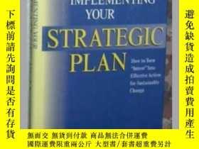二手書博民逛書店英文原版《罕見Implementing Your Strateg