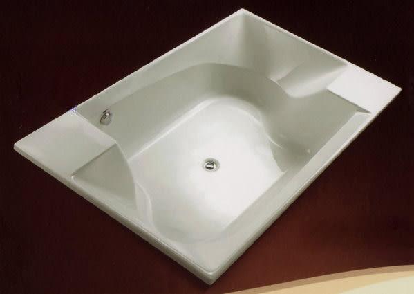 【麗室衛浴】BATHTUB WORLD雙人造形缸採用日本三菱壓克力板材 S1218A 120*180*50CM