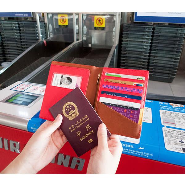 棒棒多功能護照夾 可愛軟妹多功能皮革證件夾套 零錢包 卡夾 白雪公主 愛麗絲 NXS