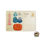 【收藏天地】印章明信片*台北意象 ∕  印章 擺飾 送禮 趣味 文具 創意 觀光 記念品