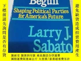 二手書博民逛書店The罕見Party s Just Begun Shaping
