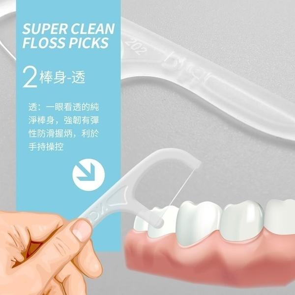 奈森克林激細牙線棒激細牙線棒50支/袋深入清潔業界首創超細精密線材無縫不入CC0079